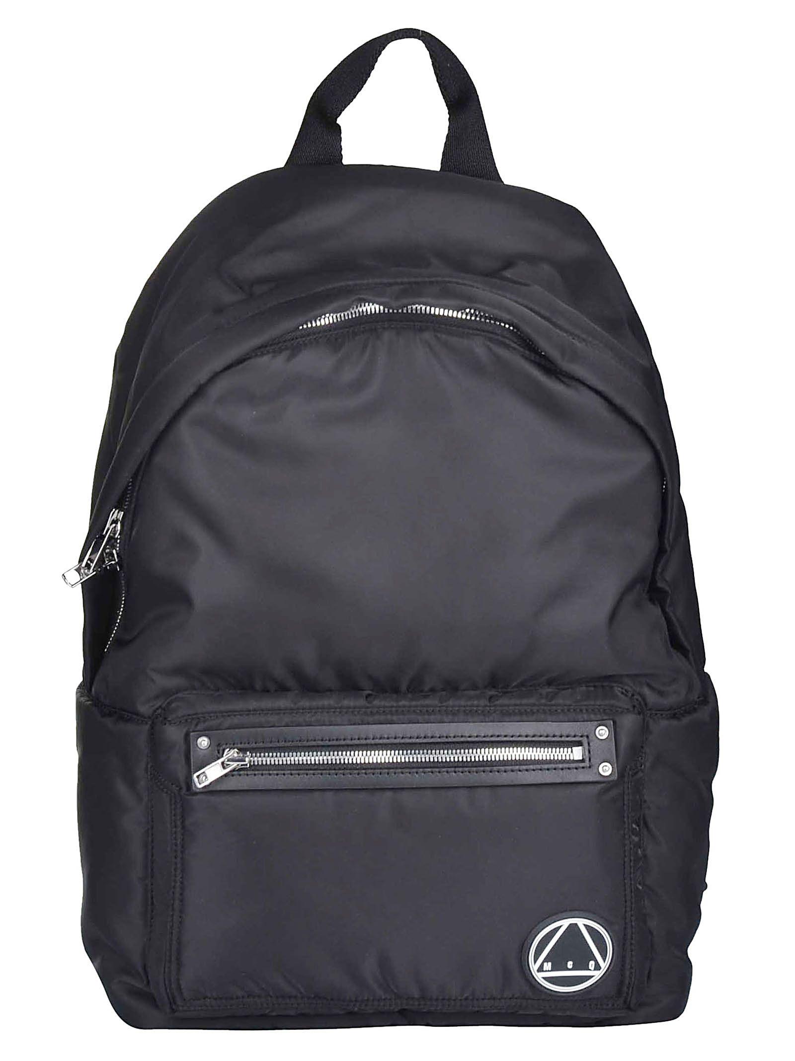 Mcq Logo Backpack in Black