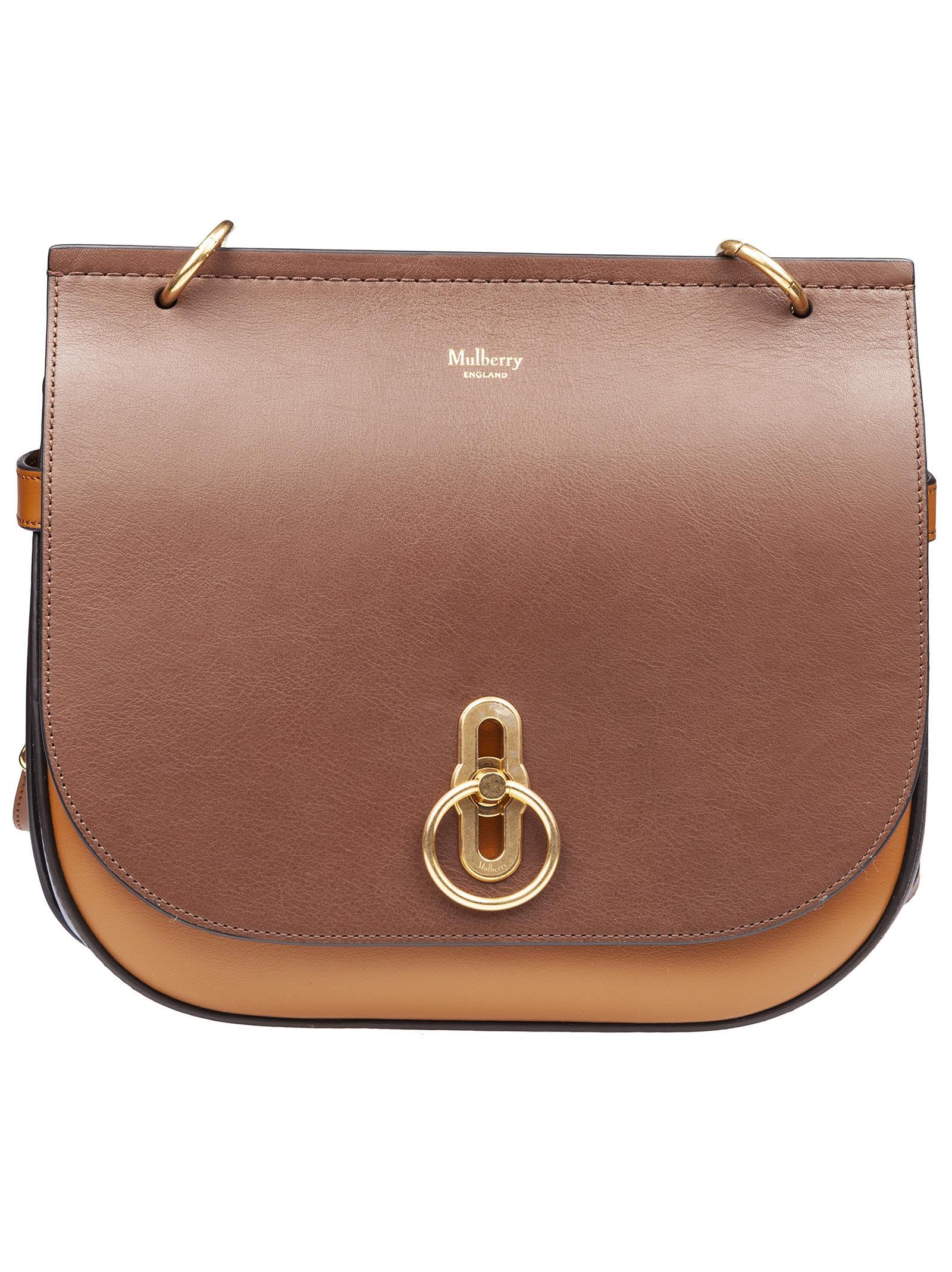 Amberley Shoulder Bag in Tobacco/Cedar/Chocolate
