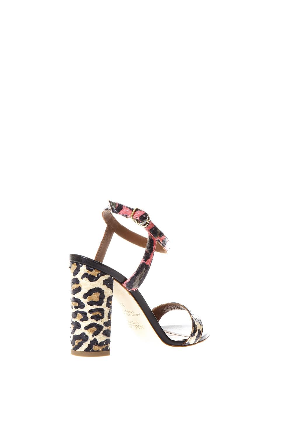 MALONE SOULIERS Ladida 1 Sandals Leopard Style Sale Hot Sale enthQt0m