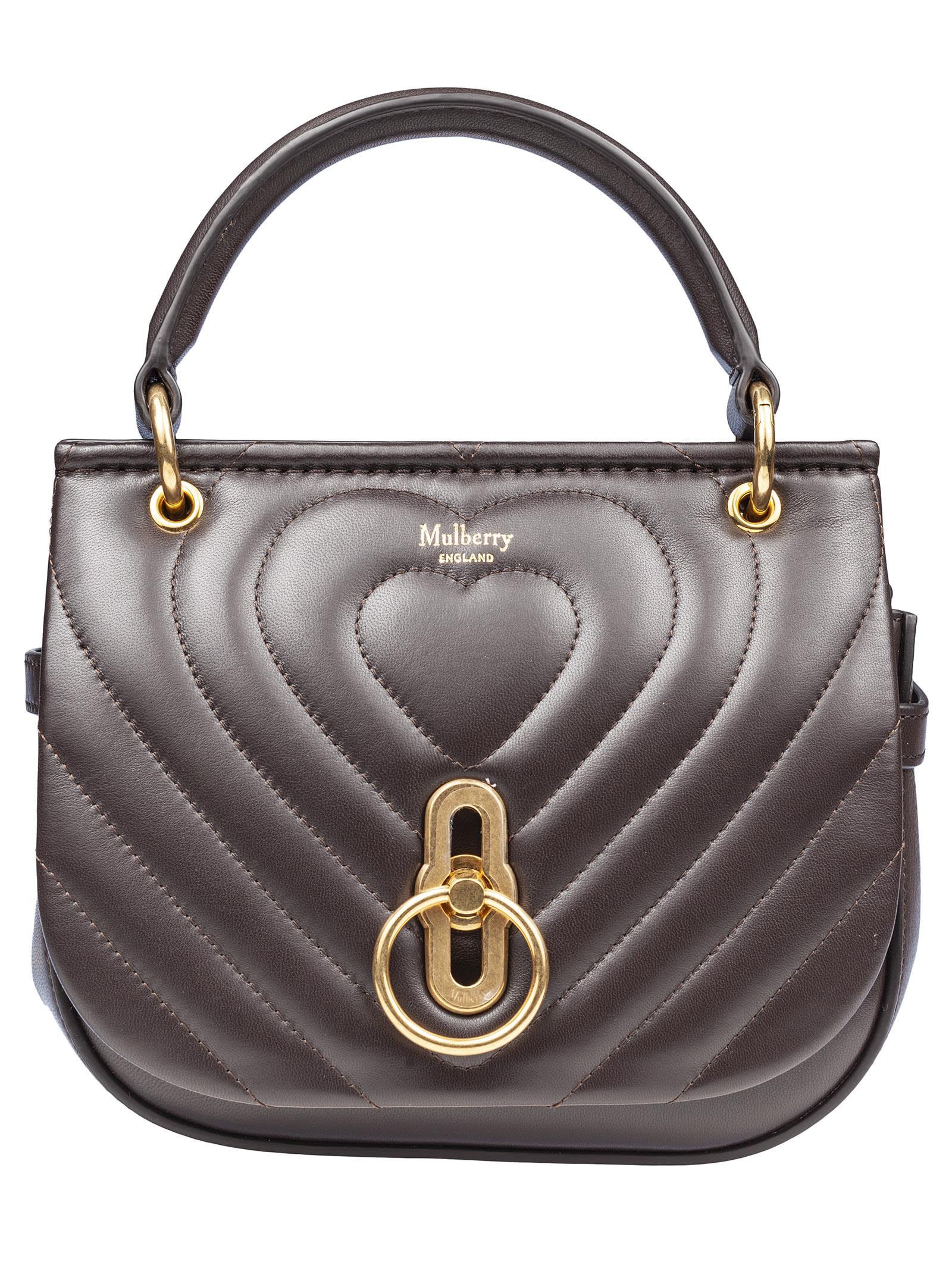 Small Amberley Shoulder Bag in Chocolate Brown