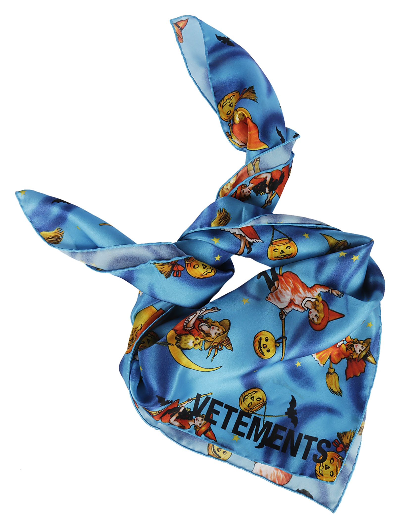 vetements -  Witch Print Scarf