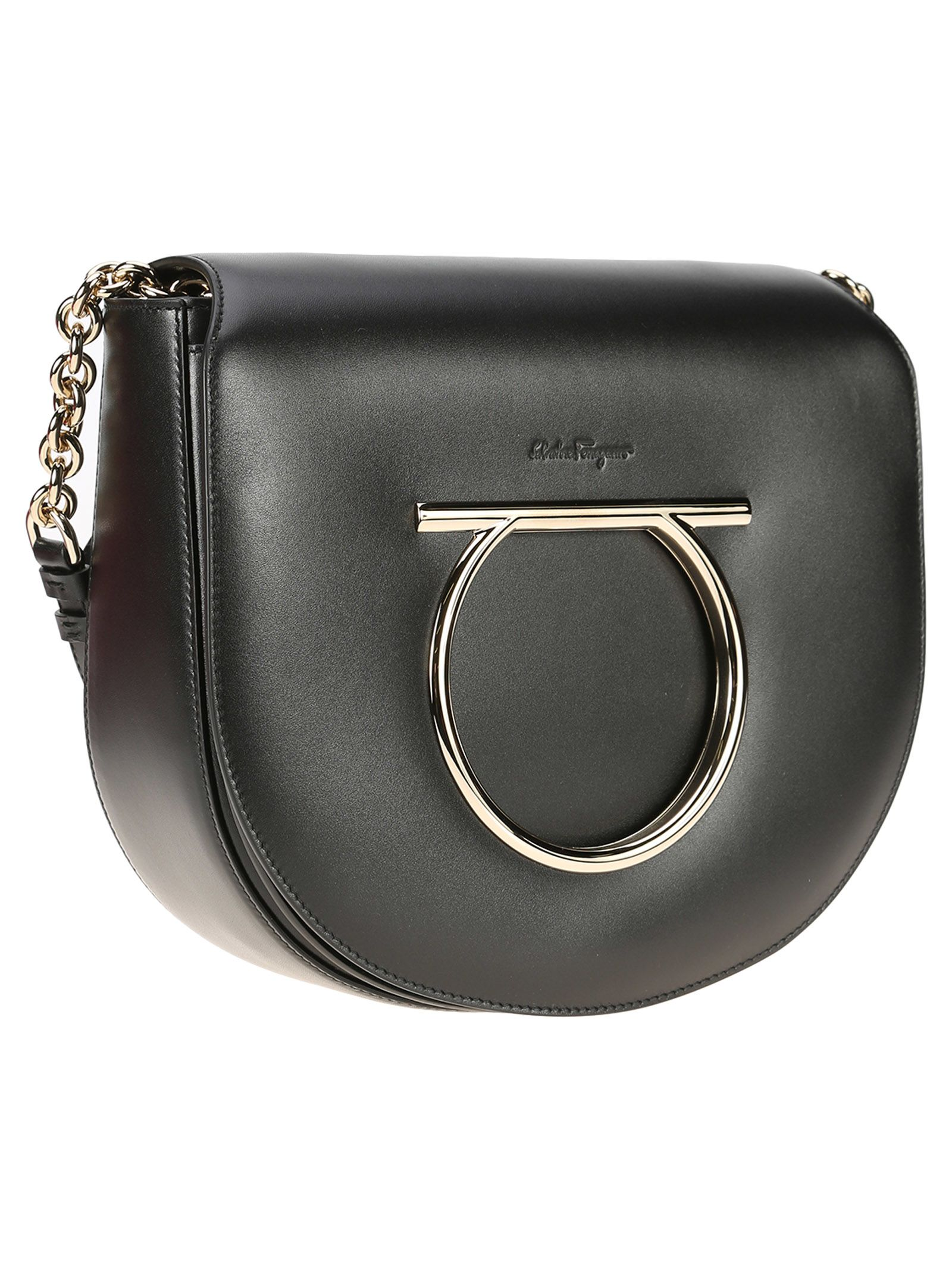 Vela Medium leather shoulder bag Salvatore Ferragamo 5xVMMH3x