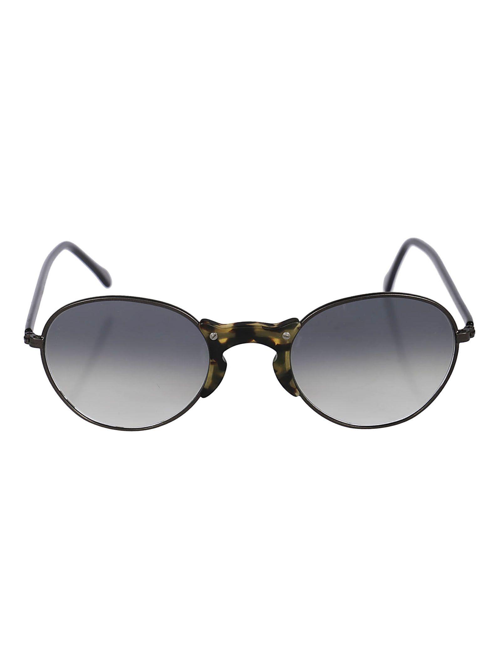 L.G.R Lgr Round Sunglasses in Gun/Mimetic