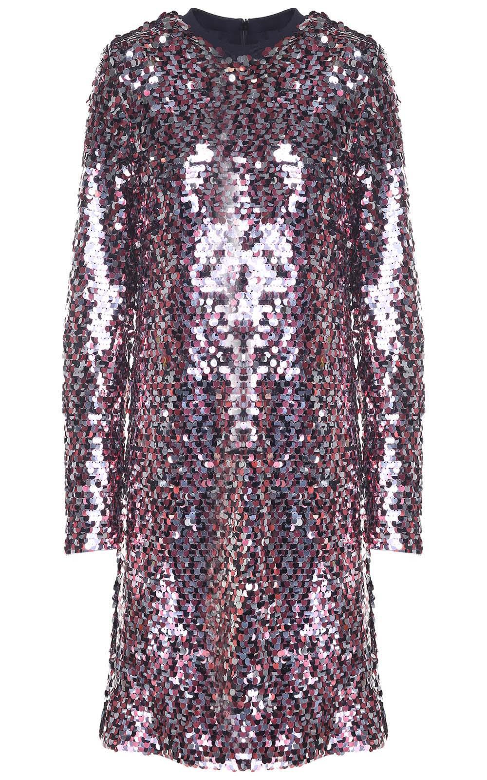 McQ Alexander McQueen Sequin-embellished Dress