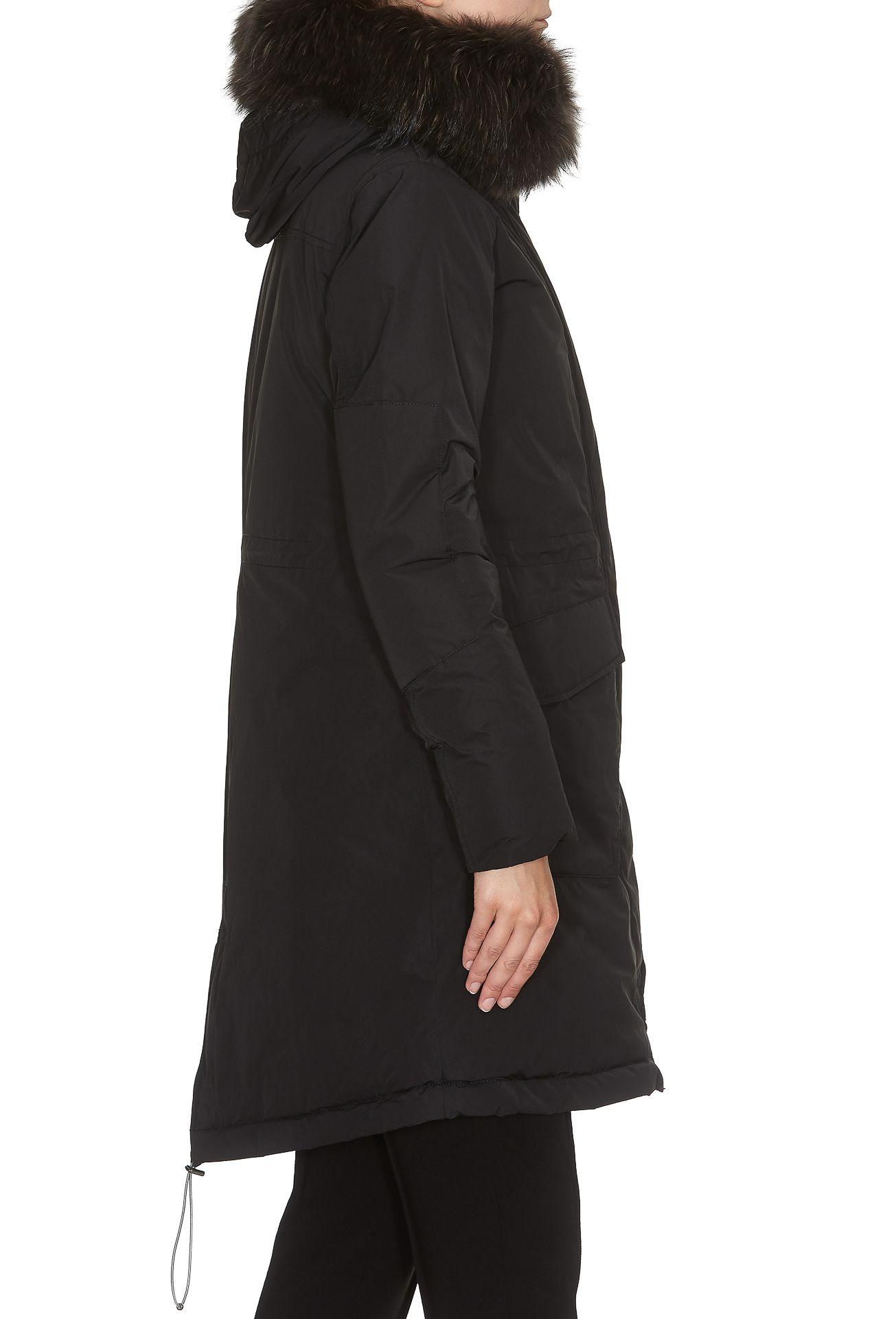 woolrich military parka black 10650263 italist. Black Bedroom Furniture Sets. Home Design Ideas