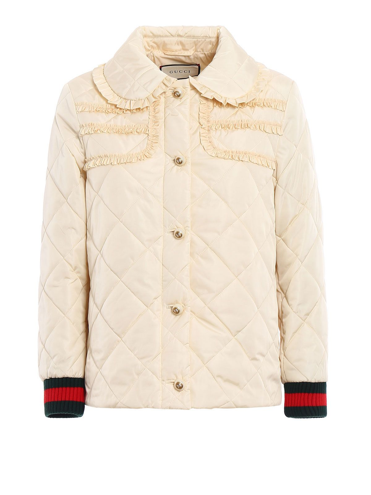 Gucci Quilted Light Nylon Caban 10487378