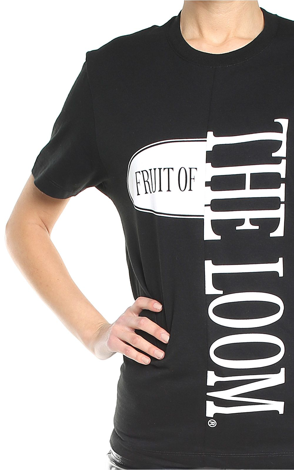 Logo-print cotton-jersey t-shirt Fruit of the Loom x Cedric Charlier Cedric Charlier Outlet Inexpensive Sale Store Low Price For Sale Recommend JzQQrTVE