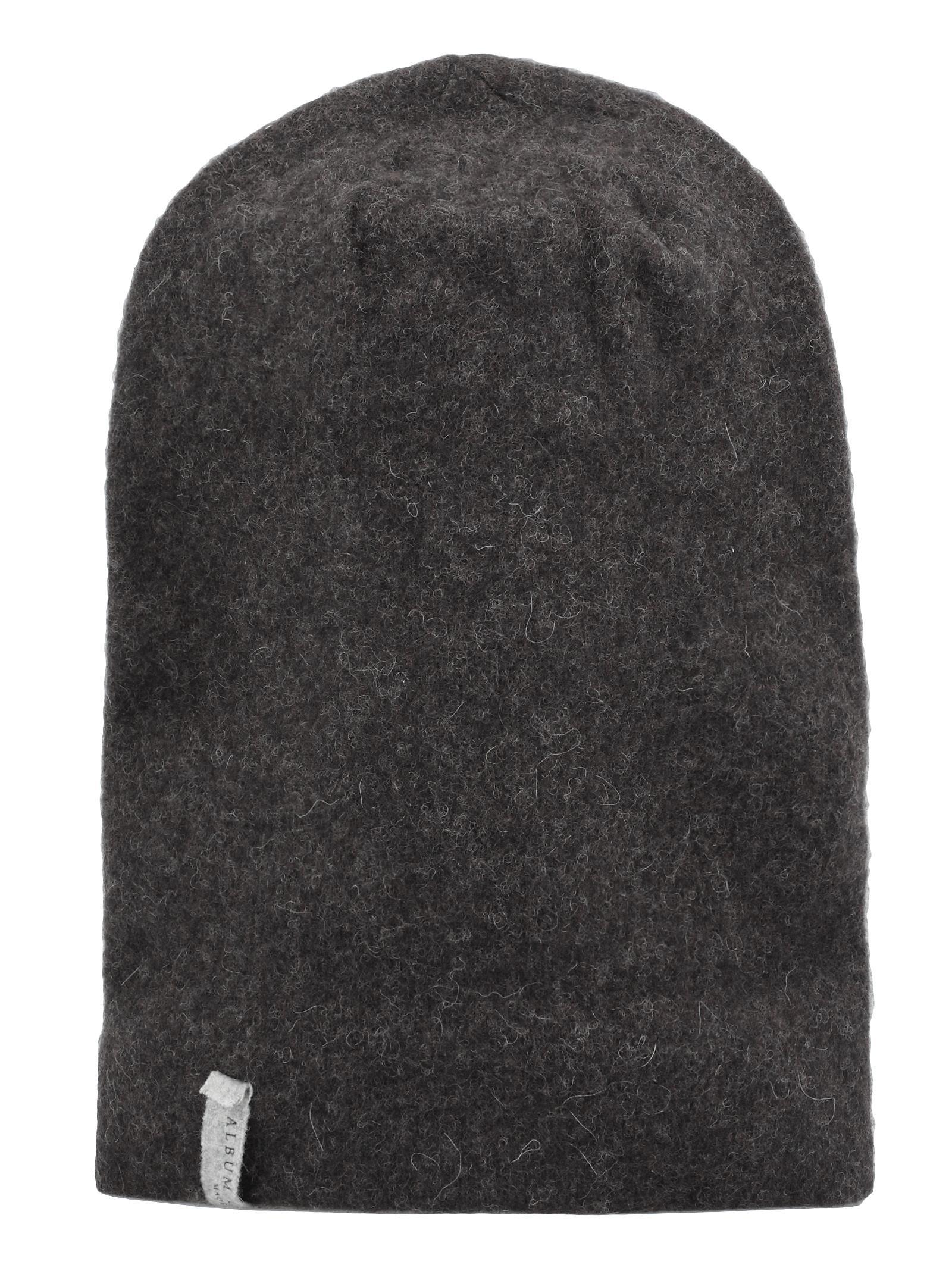 ALBUM DI FAMIGLIA Wool Hat in Chocolate