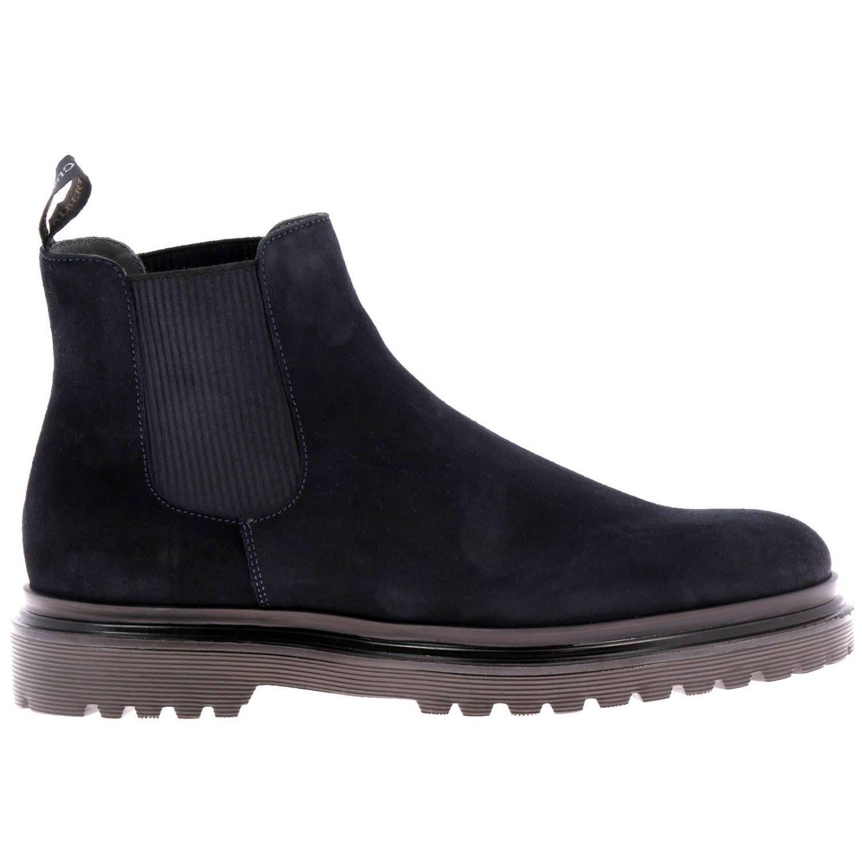 ALBERTO GUARDIANI Guardiani Boots Shoes Men Guardiani in Blue