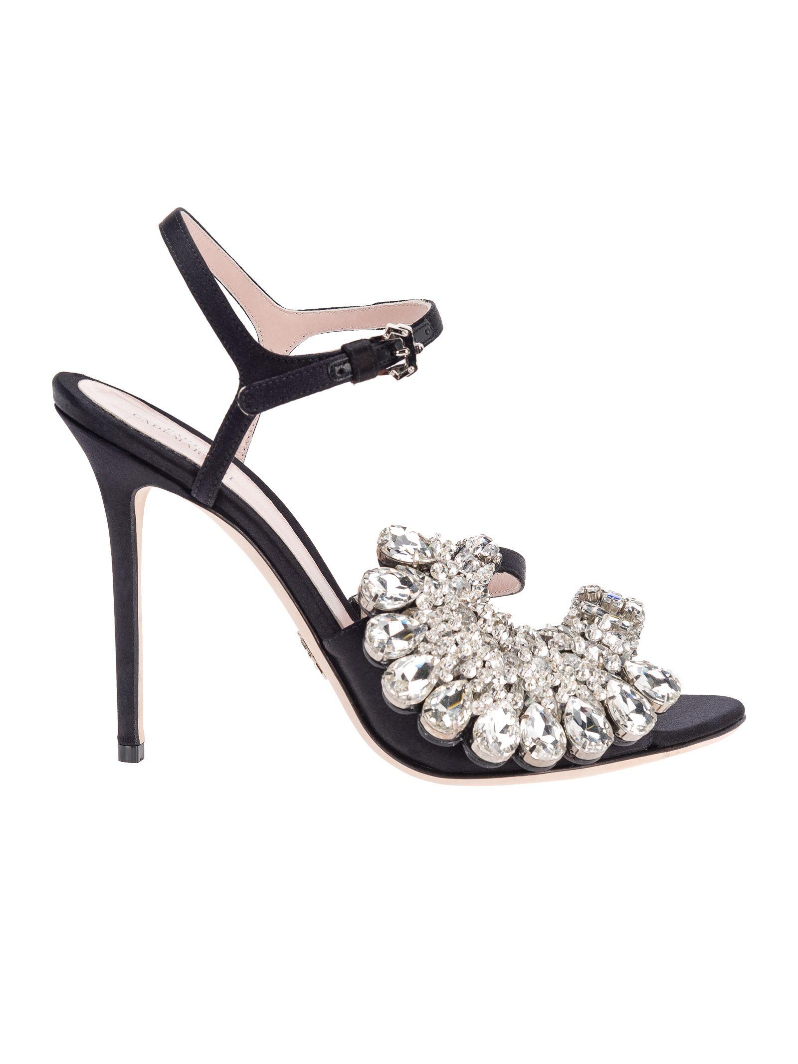Blossom Sandal, Black