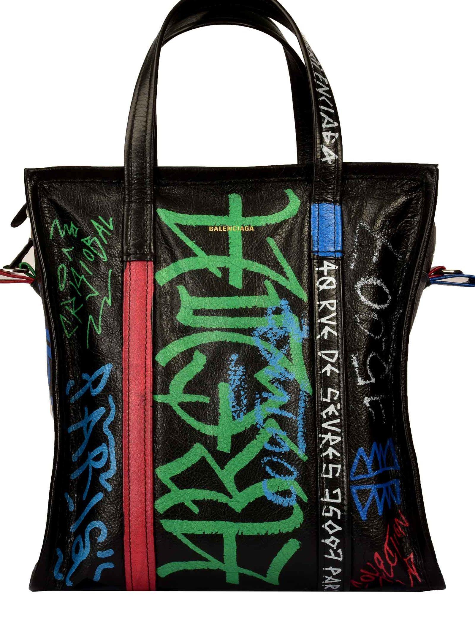 BAZAR S GRAFFITI SHOPPER BAG