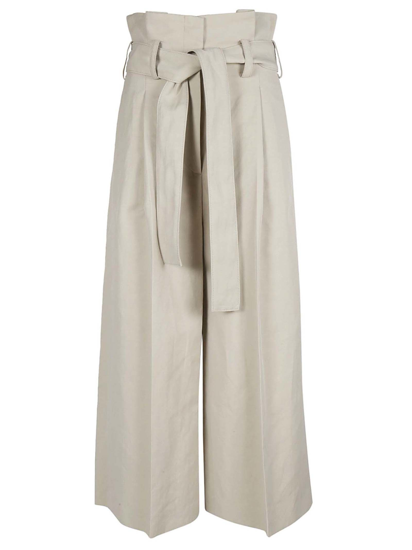 STELLA MCCARTNEY OVERSIZE CROPPED TROUSERS