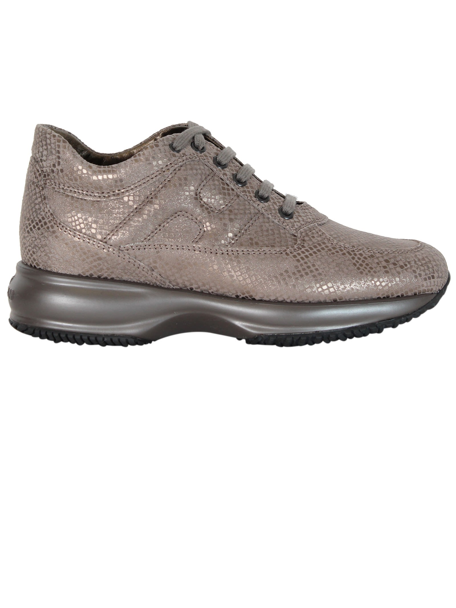 Taupe Interactive sneakers Hogan tg2YBE