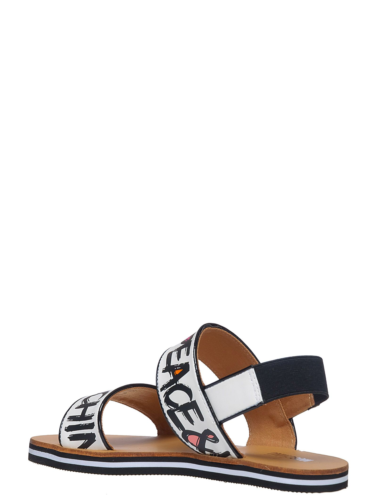 Moschino Leather Sandals ggn3aB9bC