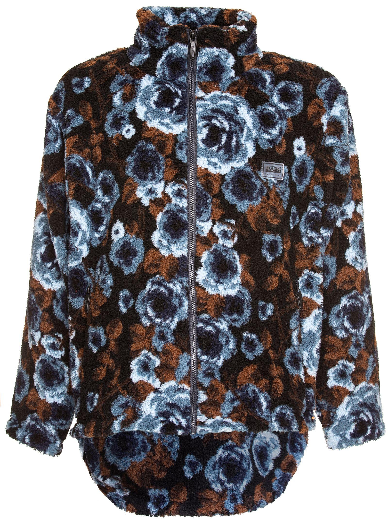 Napa By Martin Rose Sherpa Sweater, Blu