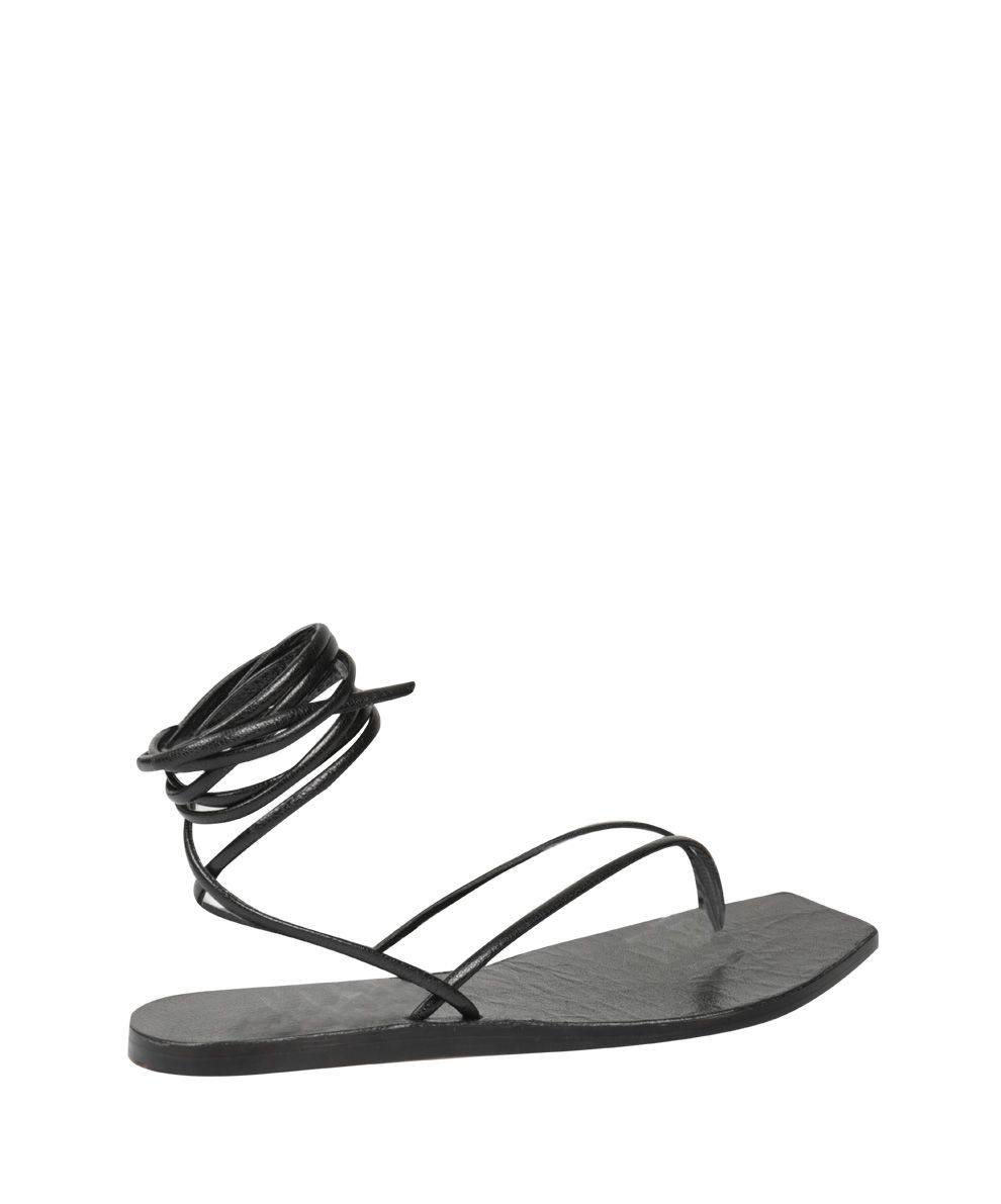 Pre Order For Sale Rick Owens Tangle Thon Leather Sandals Buy Cheap Footlocker Pictures Clearance Official Buy Cheap From China phCKxaTk