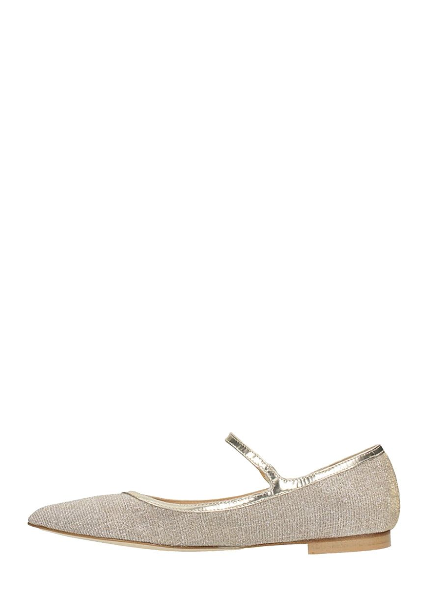 Julie Dee Pointed Toe Glitter Ballerinas Clearance With Credit Card Genuine Cheap Online Footaction Sale Online Discount Nicekicks For Cheap For Sale k4Fjt1