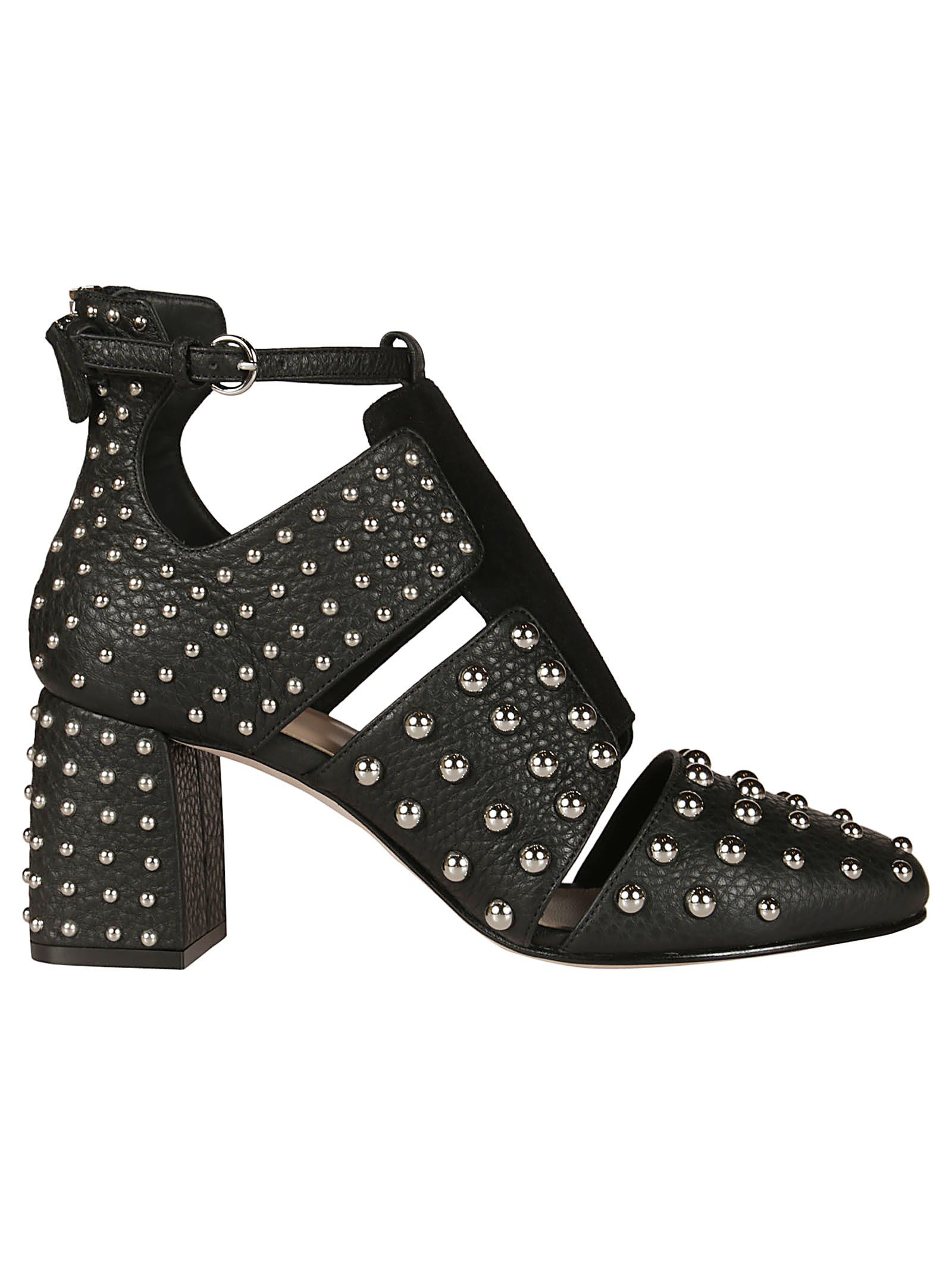 Red Valentino Stud-embellished Ankle Boots