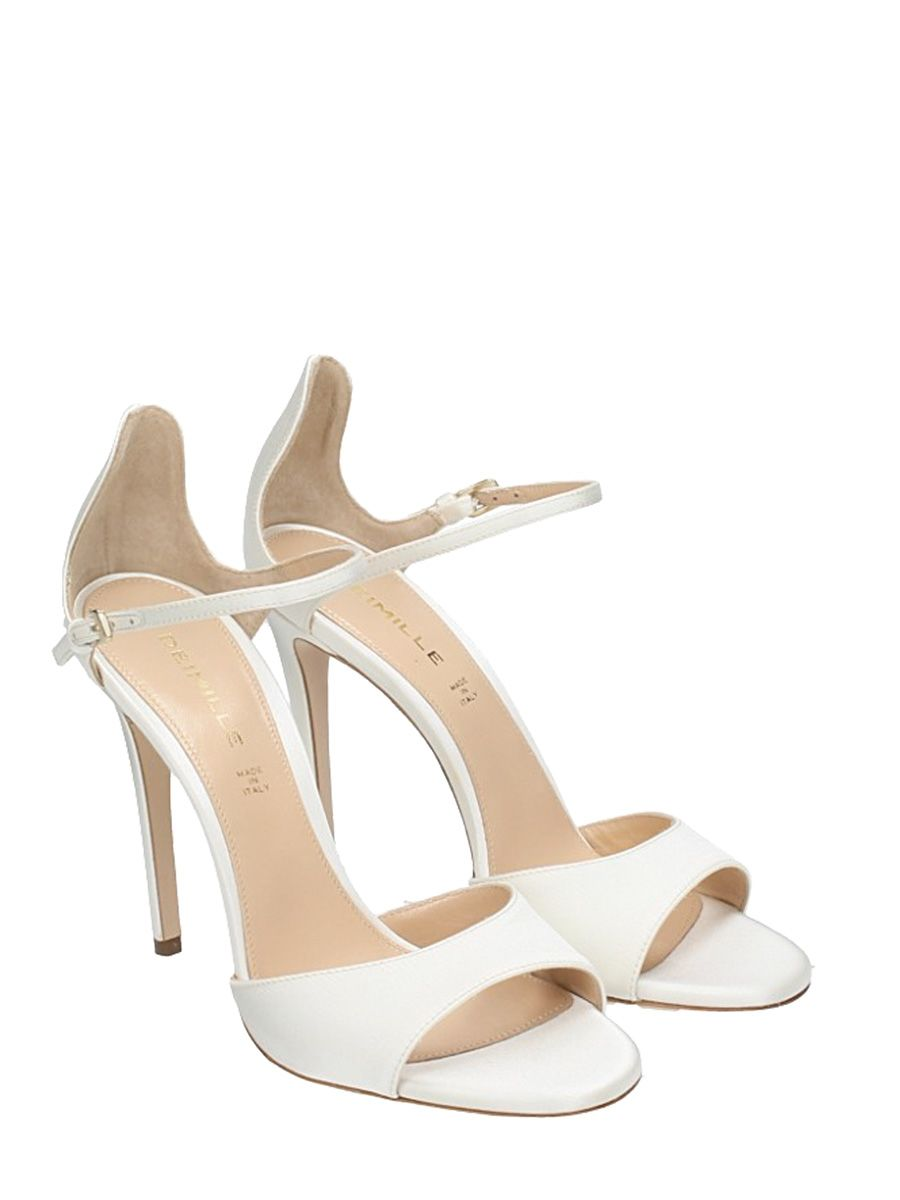 Release Dates Online DEIMILLE Satin Sandals Buy Cheap Discount Buy Cheap How Much Discount Best Store To Get 39idYm