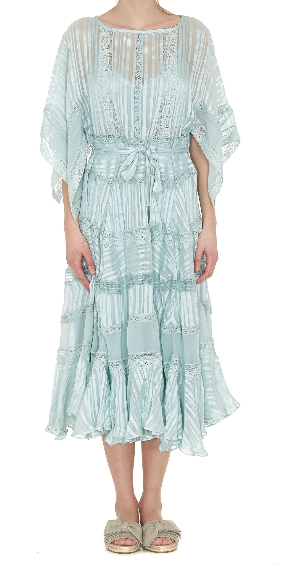 Zimmermann - Zimmermann Whitewave Veil Dress - Sea foam, Women\'s ...