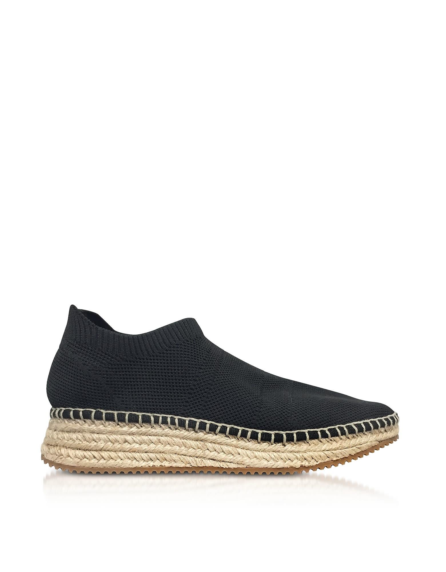 Alexander Wang Dylan Knit Low Top Sneakers W-jute Sole Sale Footlocker Fhh0U