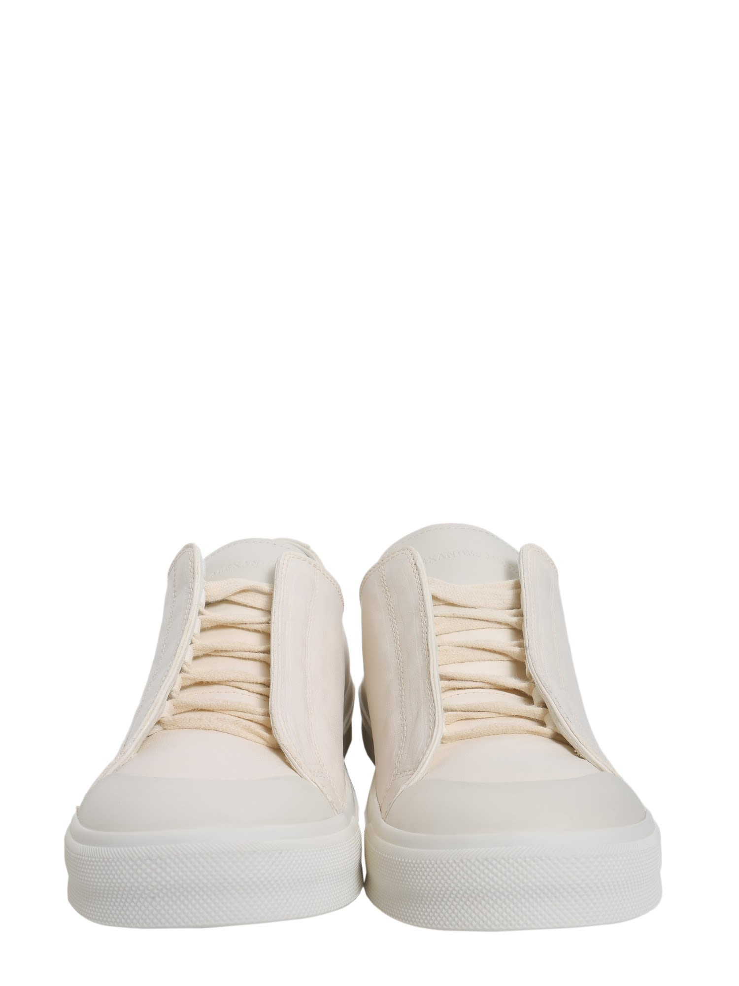Alexander McQueen Sneakers with leather cap toe RgulR