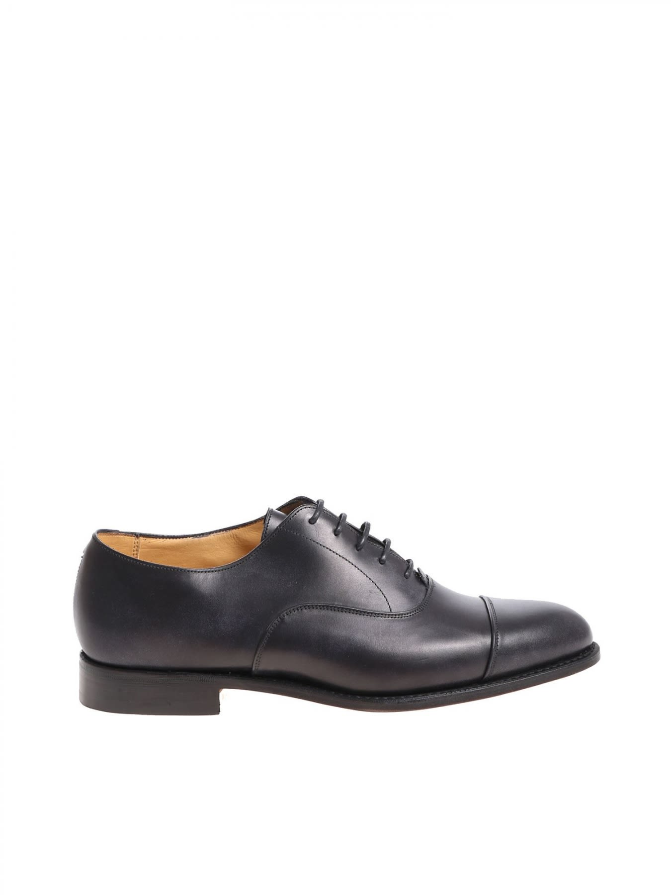 TRICKERS OXFORD LEATHER