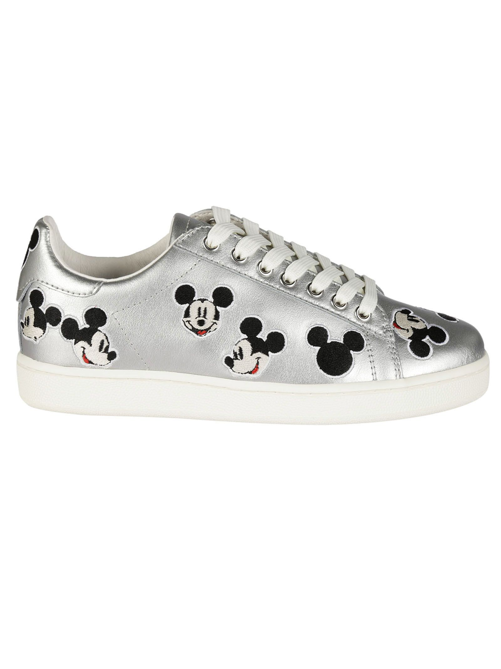 Mickey Mouse platform sneakers - Metallic MOA Master Of Arts