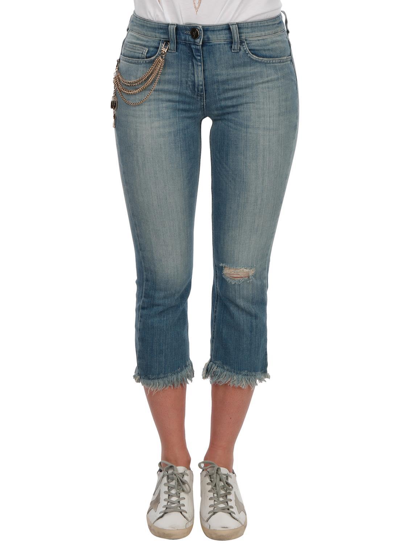 Jeans On Sale in Outlet, Denim Blue, Cotton, 2017, 29 Elisabetta Franchi