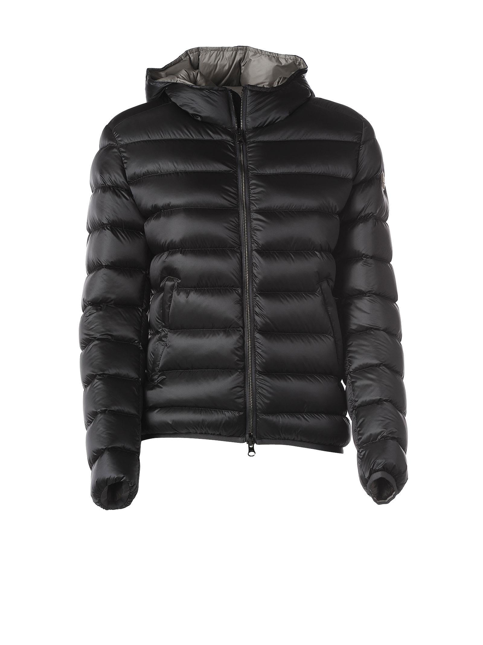 Colmar Colmar Hooded Grey Down Jacket