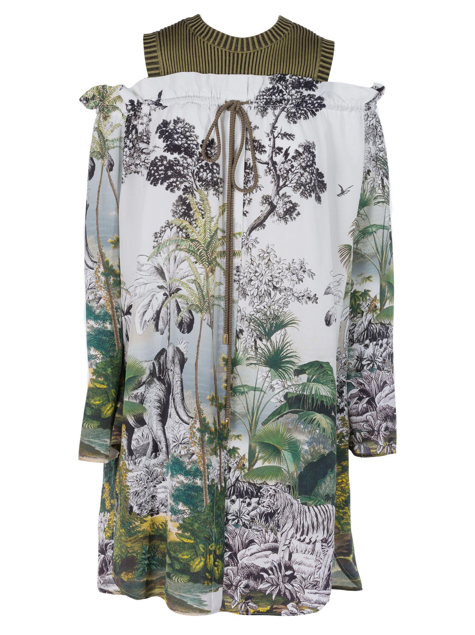 Alberta Ferretti Alberta Ferreti Floral Print Dress