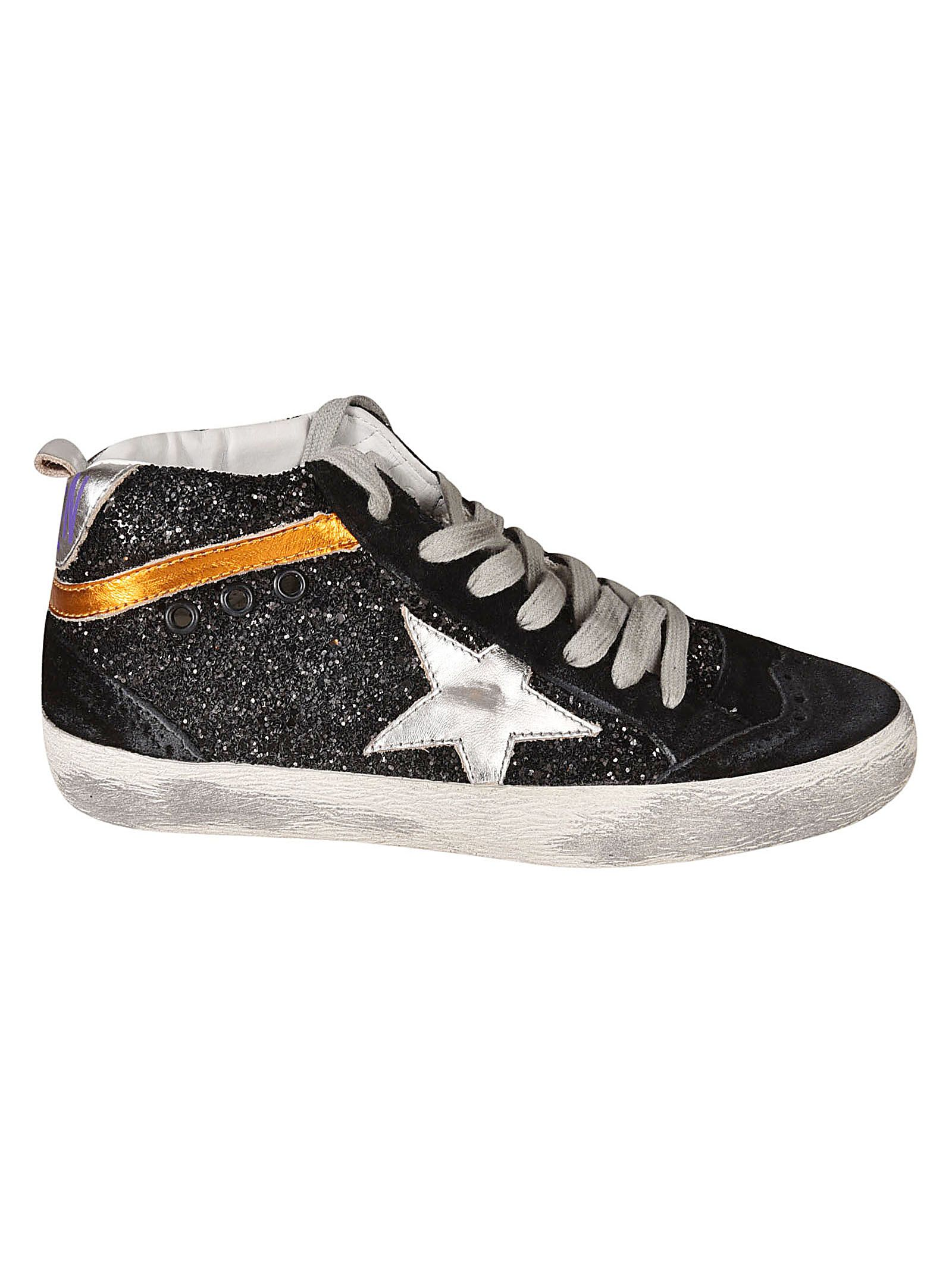 Golden Goose Deluxe Brand Mid-length Top Star Sneakers