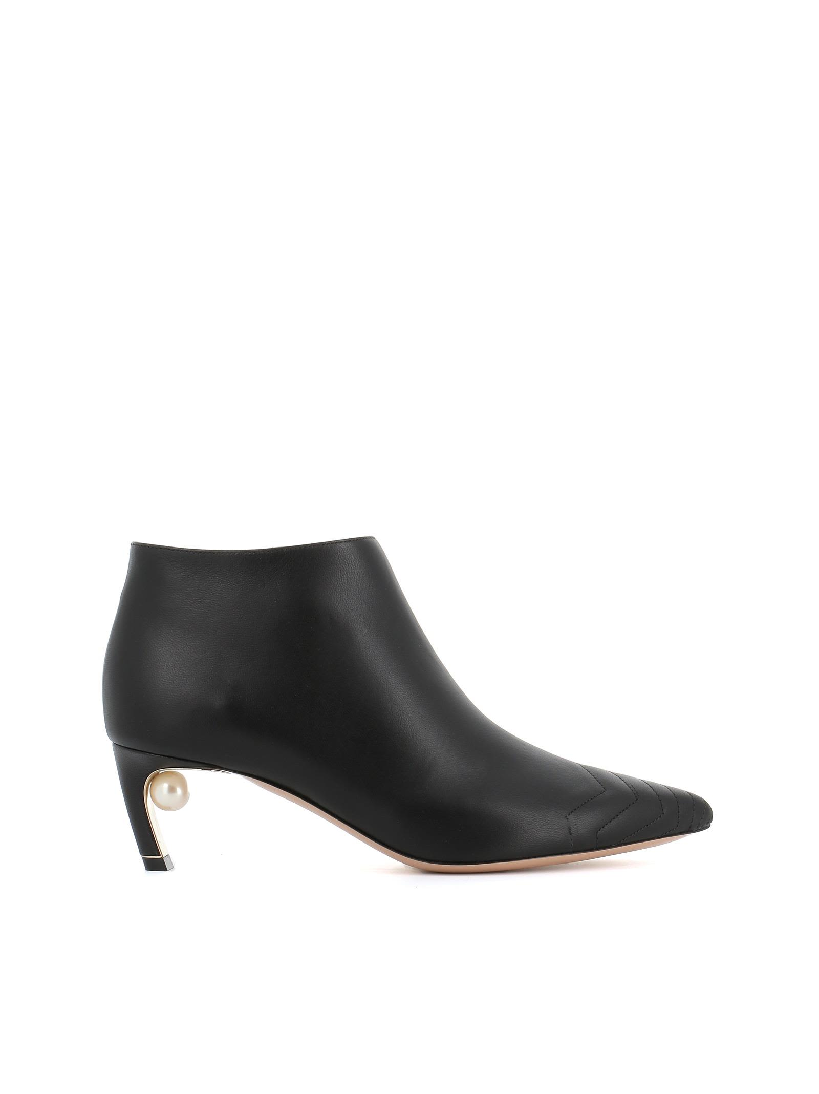 """Ankle Boot """"Mira Pearl"""" in Black"""