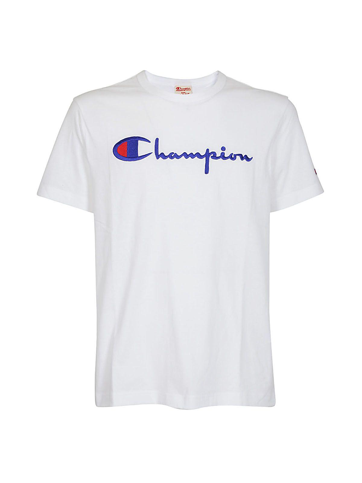 Champion Cottons LOGO PRINT T-SHIRT