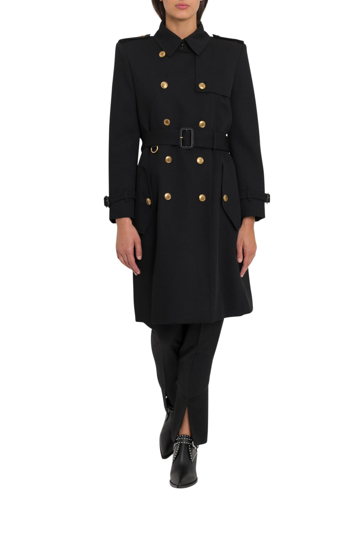 givenchy -  Wool Crepe Classic Trenchcoat