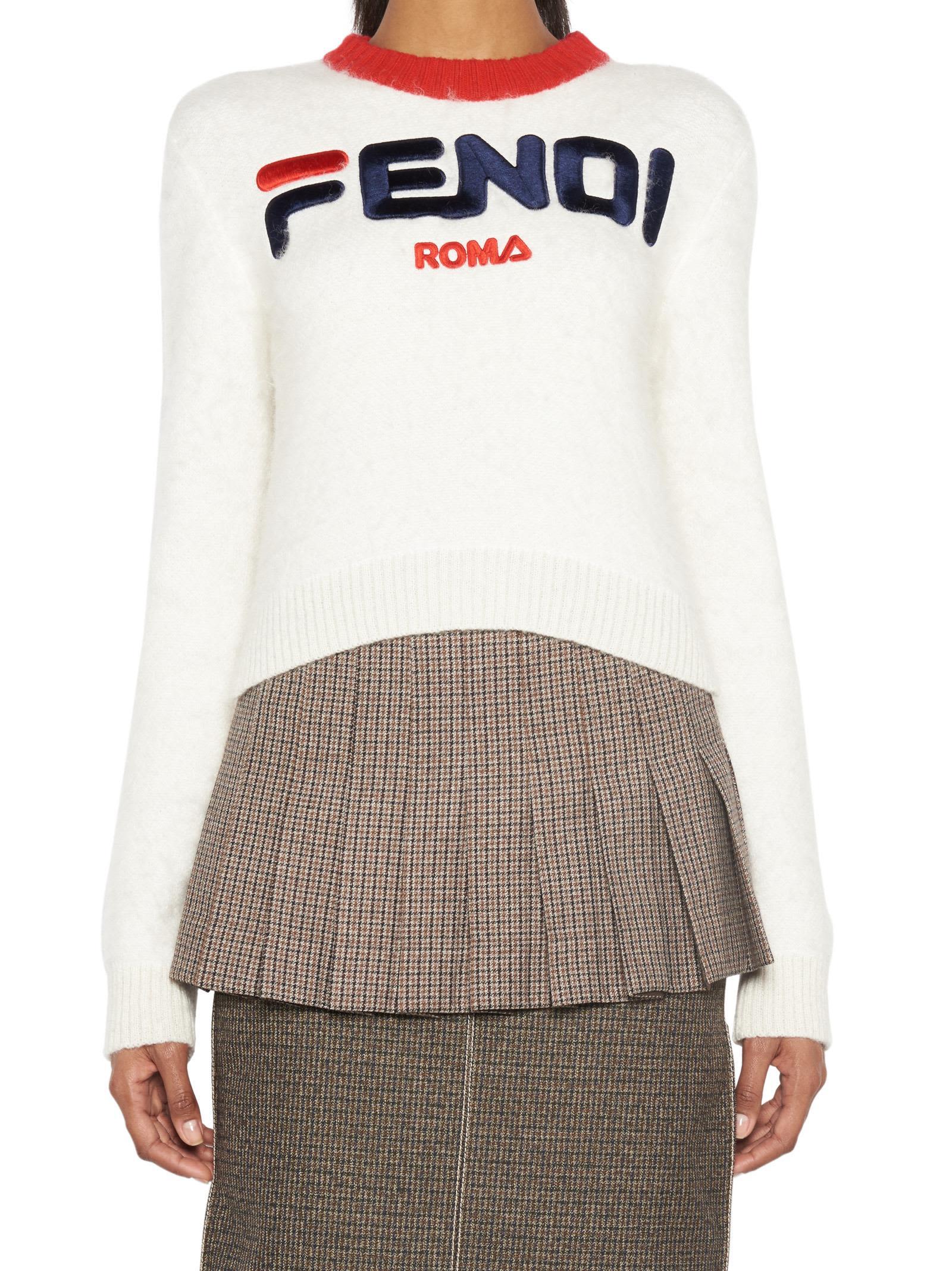 Fendi 'fendi Fila' Sweater