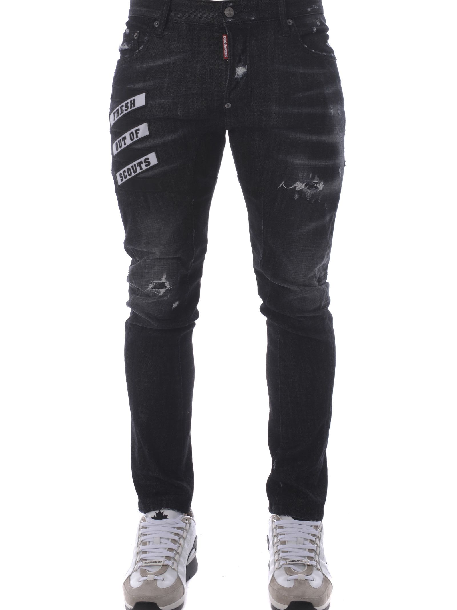 Dsquared2 Distressed Jeans 10586358