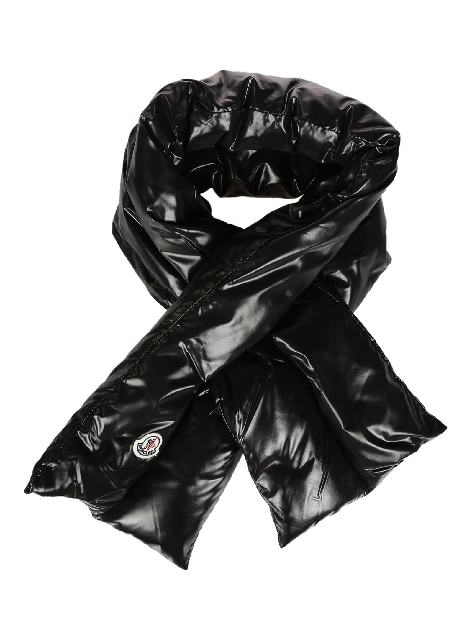 Moncler Padded Scarf - Black ...