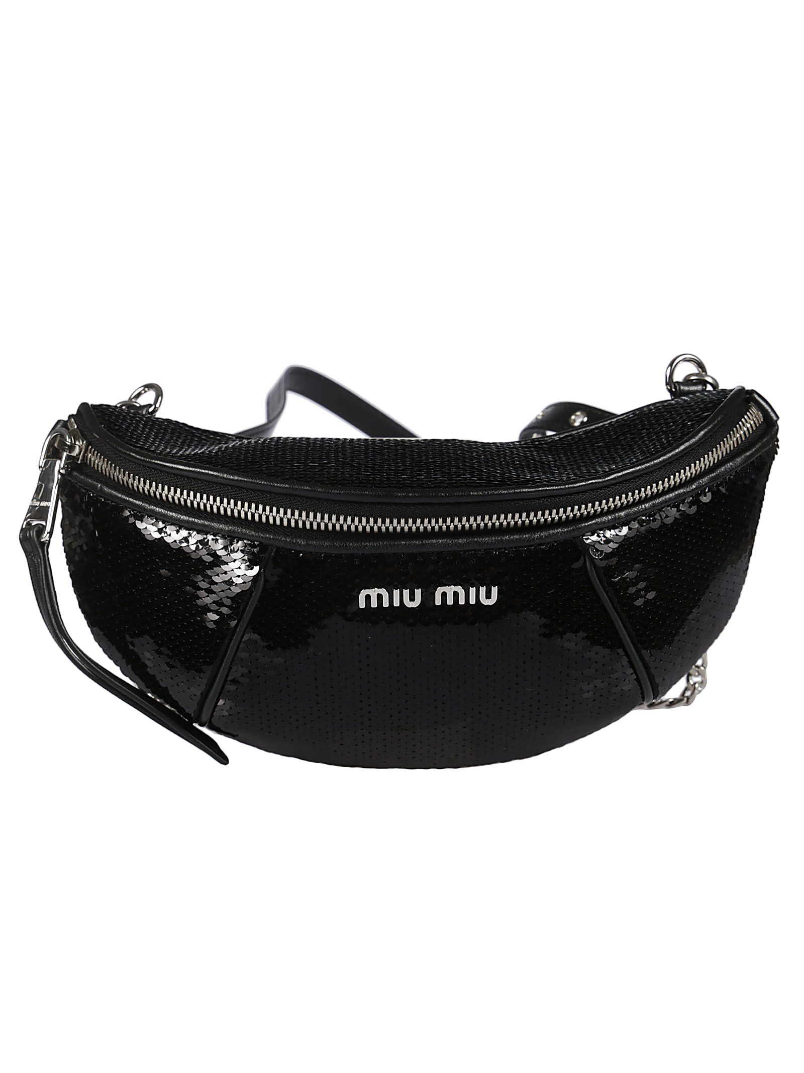 Miu Miu Paillettes Belt Bag