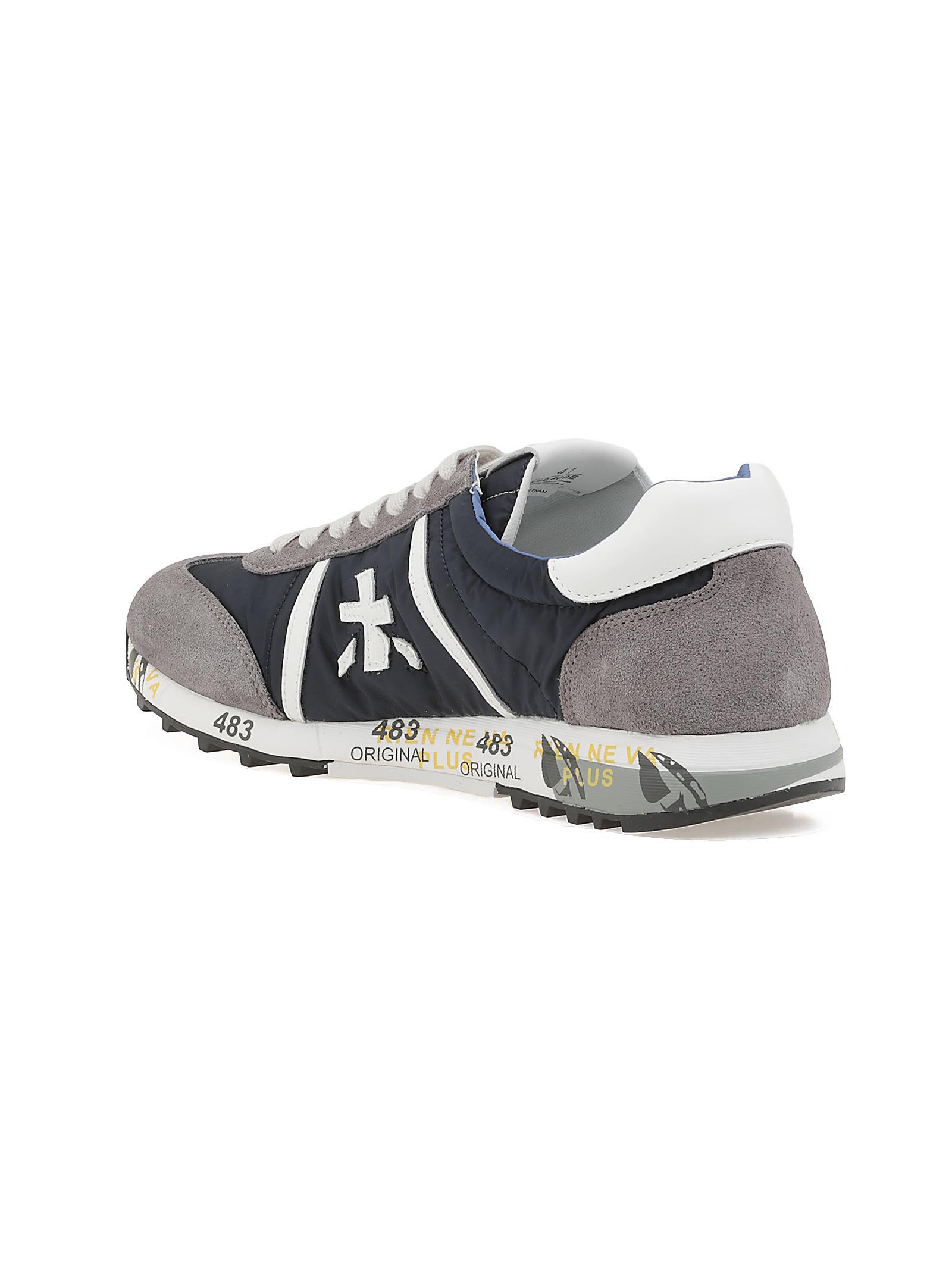 ... White Premiata Lucy 600e Sneaker ...