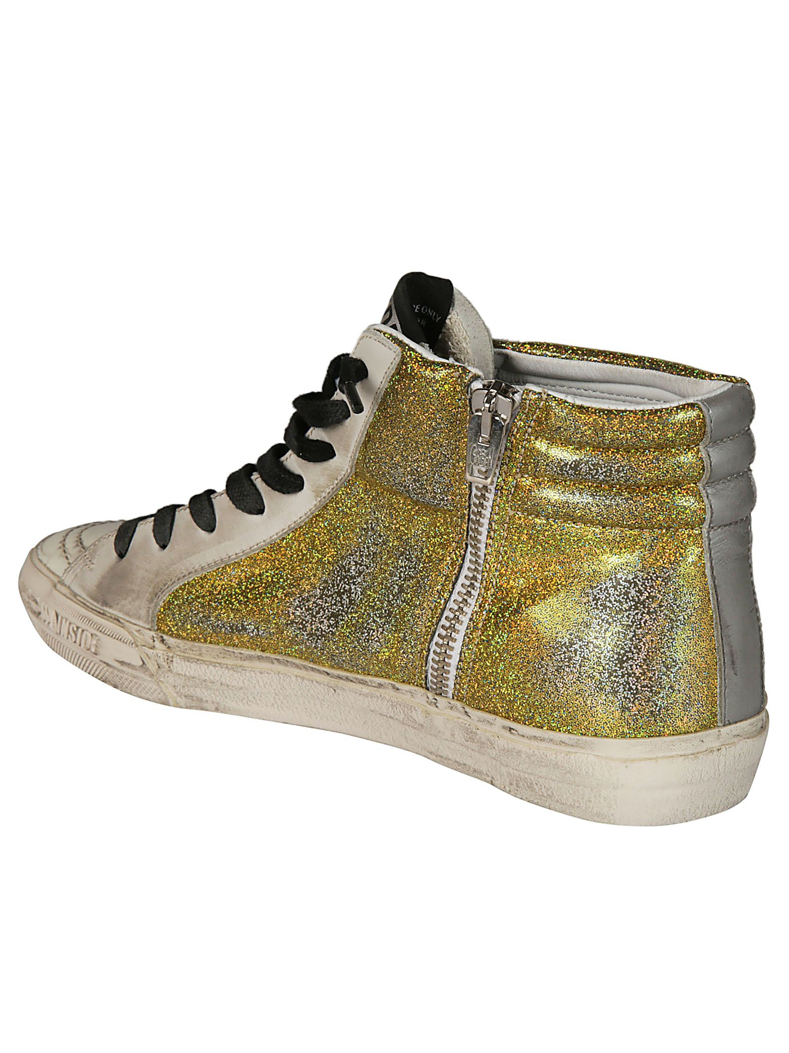 Golden Goose Deluxe Brand Cedro Glittered Sneakers Authentic For Sale With Mastercard Cheap Price Cheap New Arrival MKKbWrB
