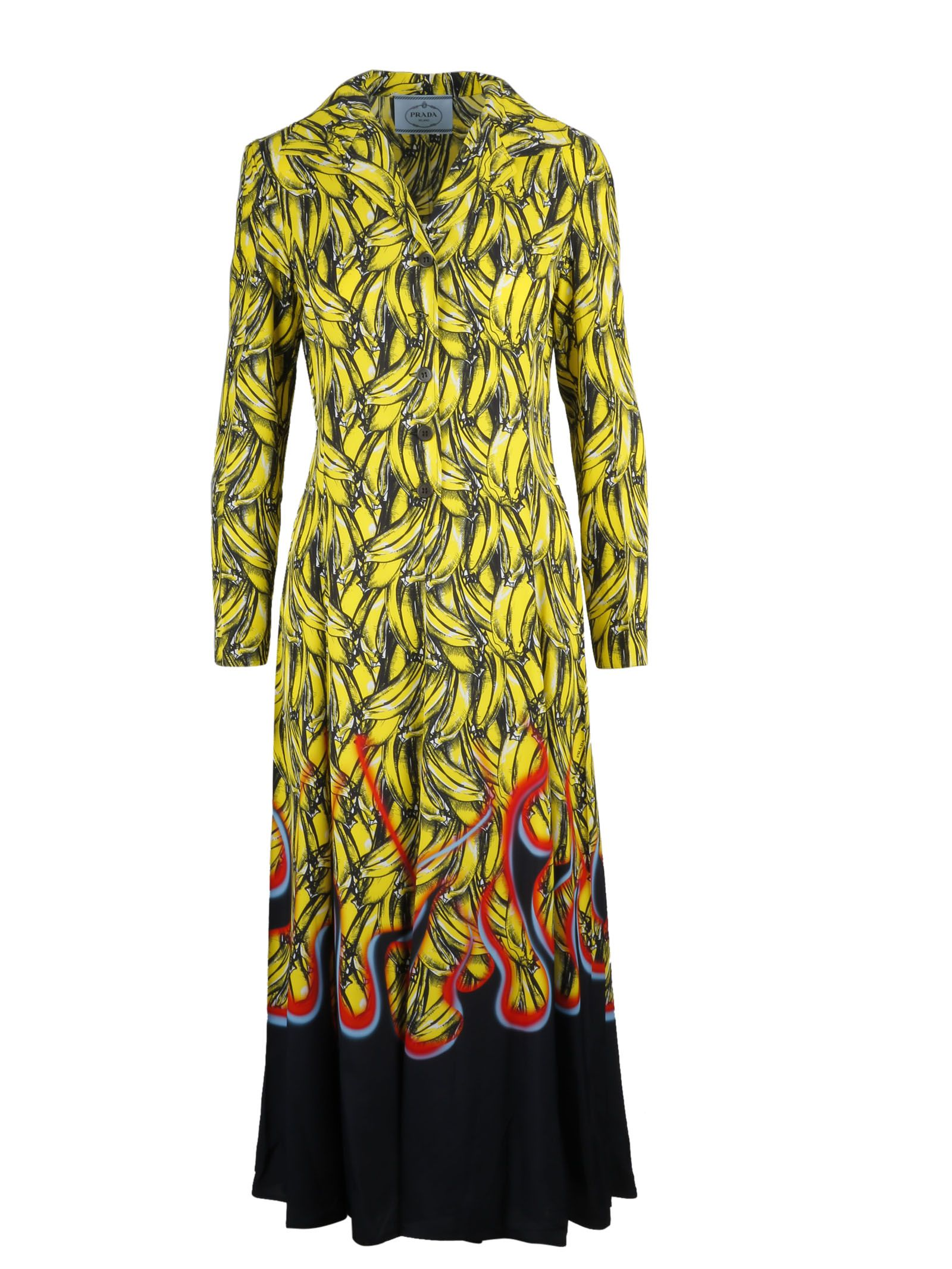 Bananas And Flames Dress in F0D7A