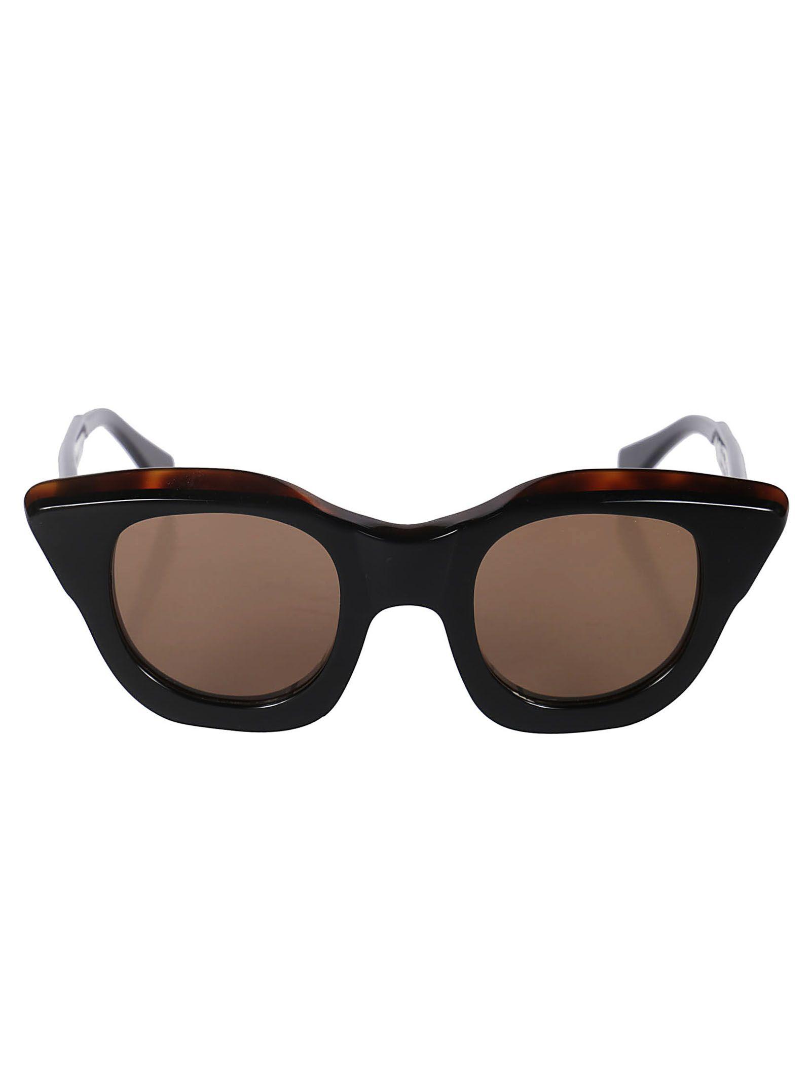 ojo gato de con Kuboraum de Hbs en marrón Gafas sol qCfIq