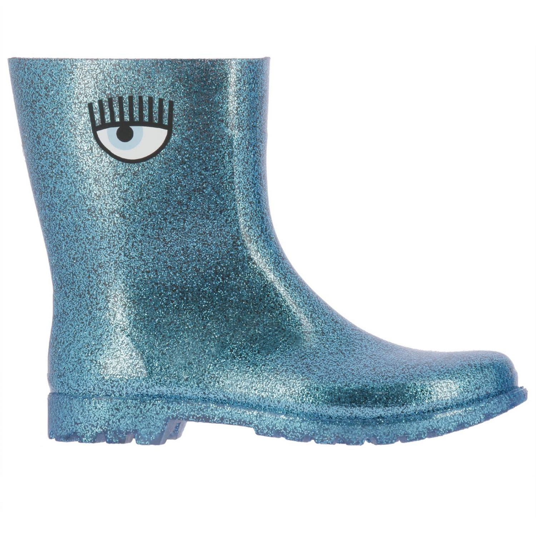 Flat Booties Shoes Women Chiara Ferragni