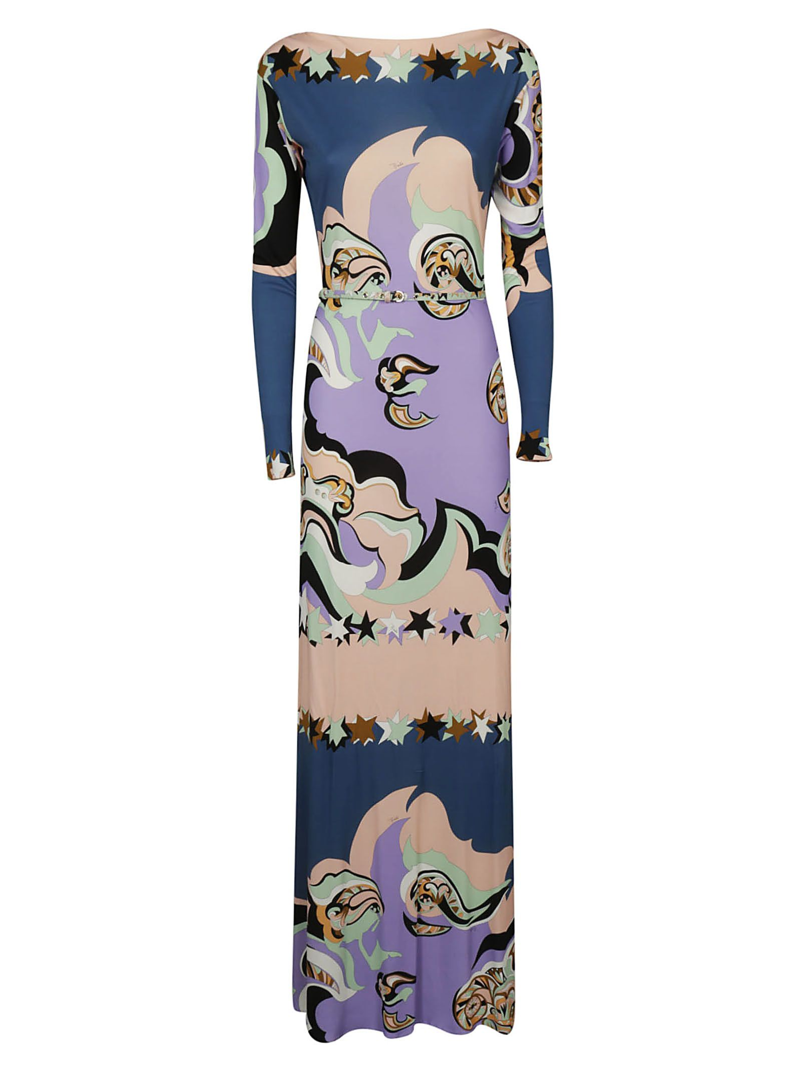 Emilio Pucci Printed Long Dress 10694797