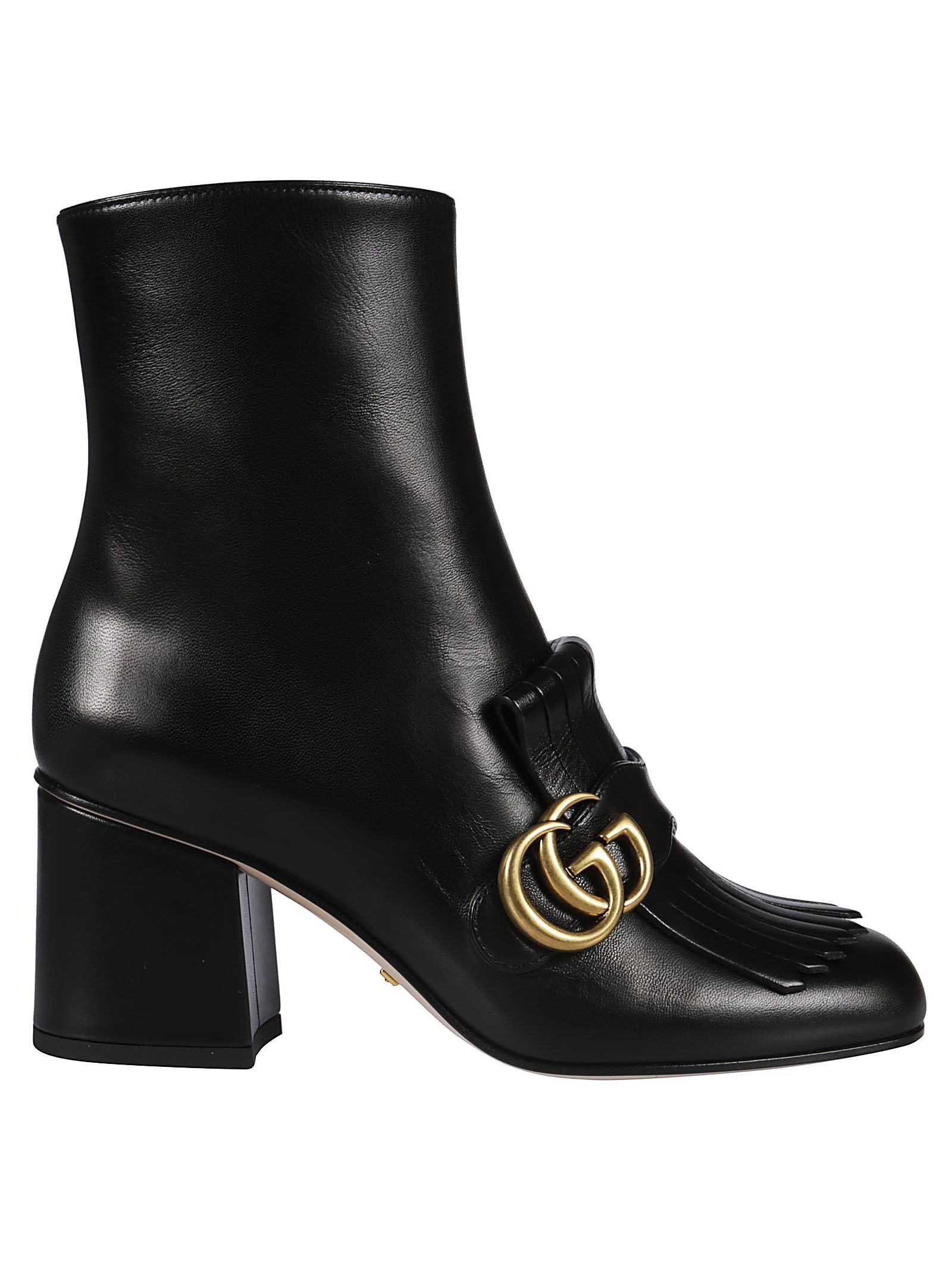 Gucci Fringed Ankle Boots 10689063