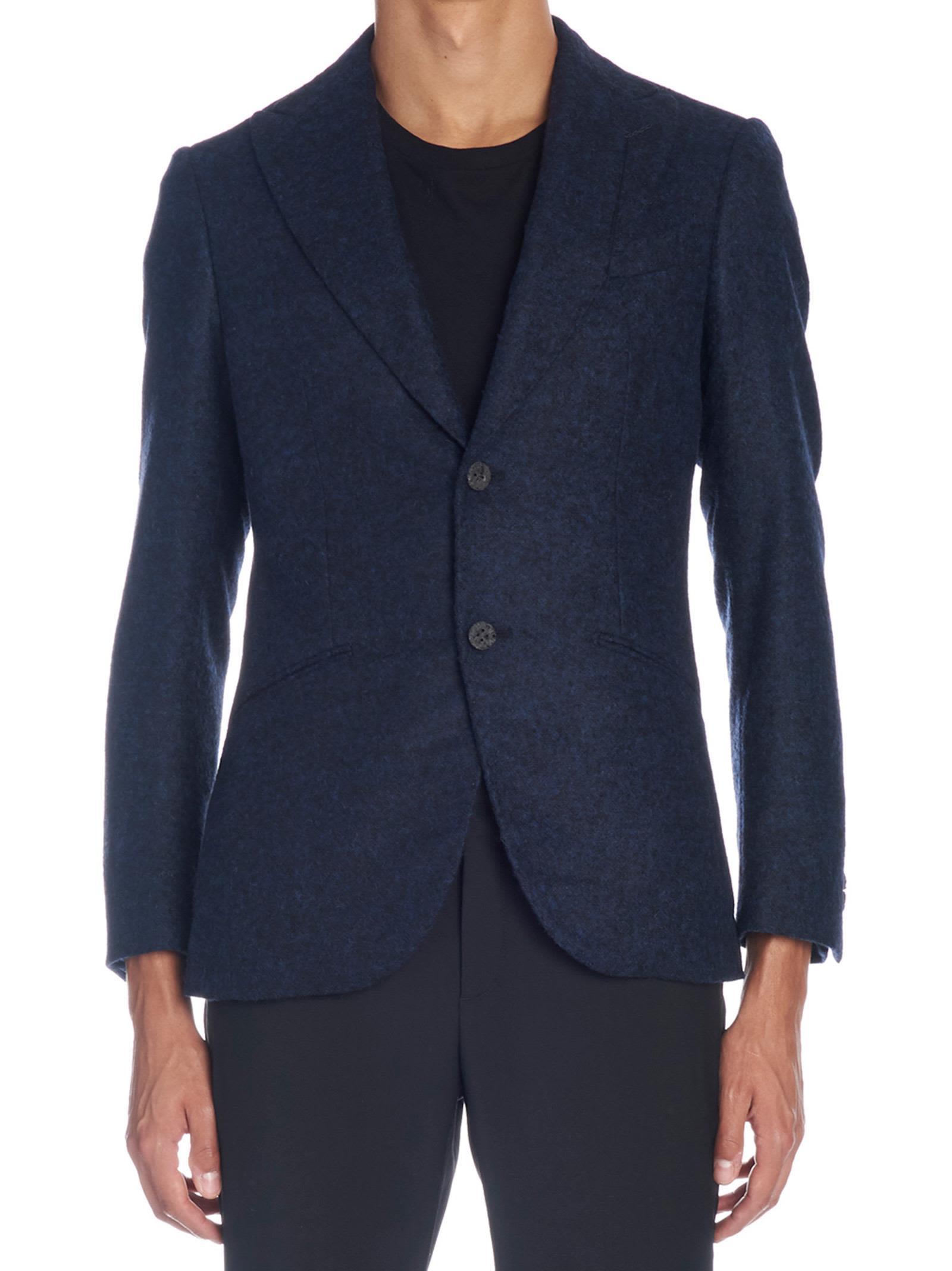 MAURIZIO MIRI Jacket in Blue