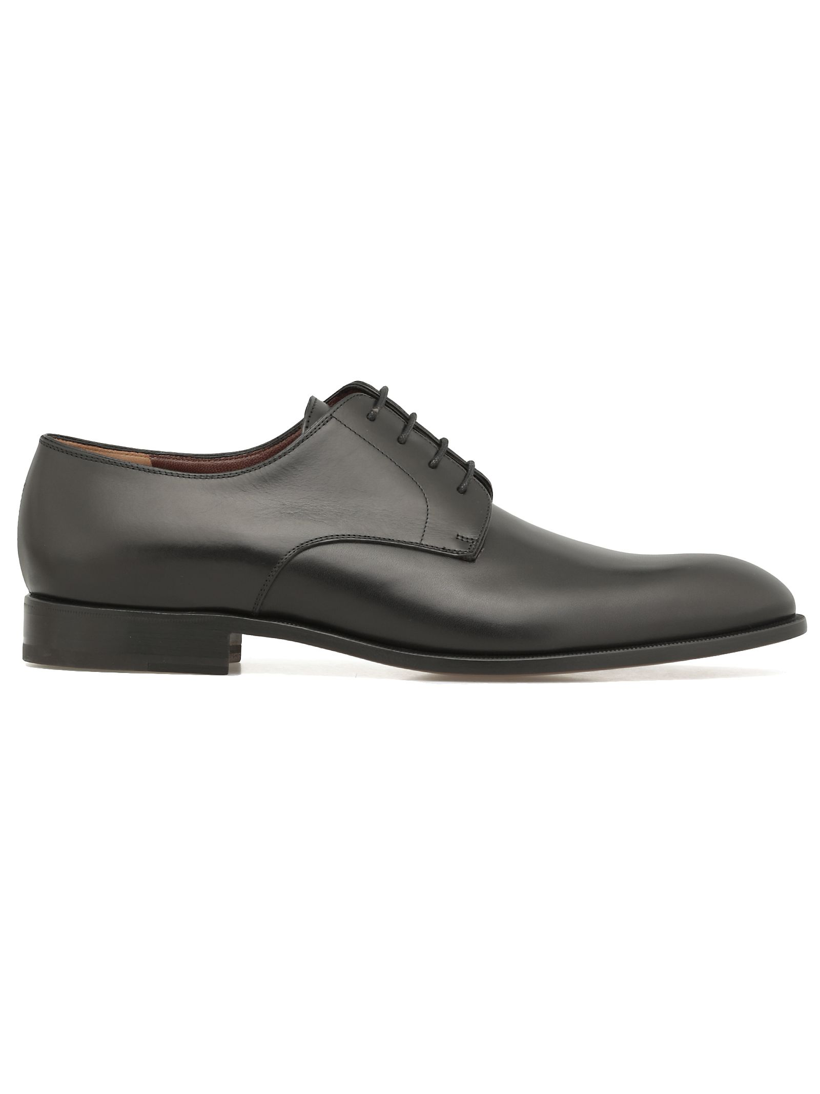 FRATELLI ROSSETTI Lace-Up Leather Shoes in Black