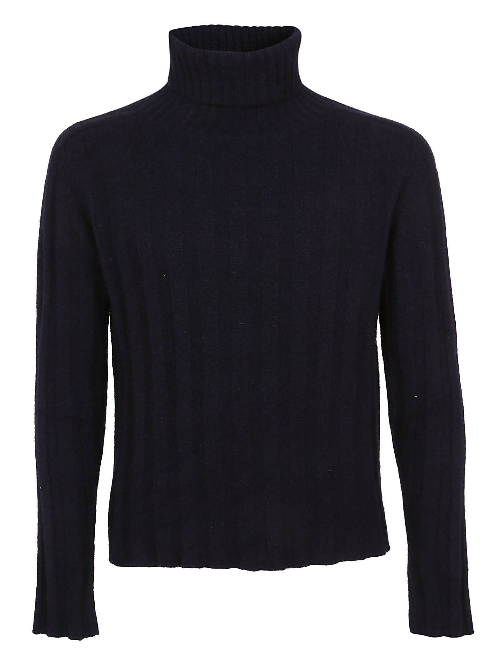 MASSIMO PIOMBO Ribbed Sweater in 5