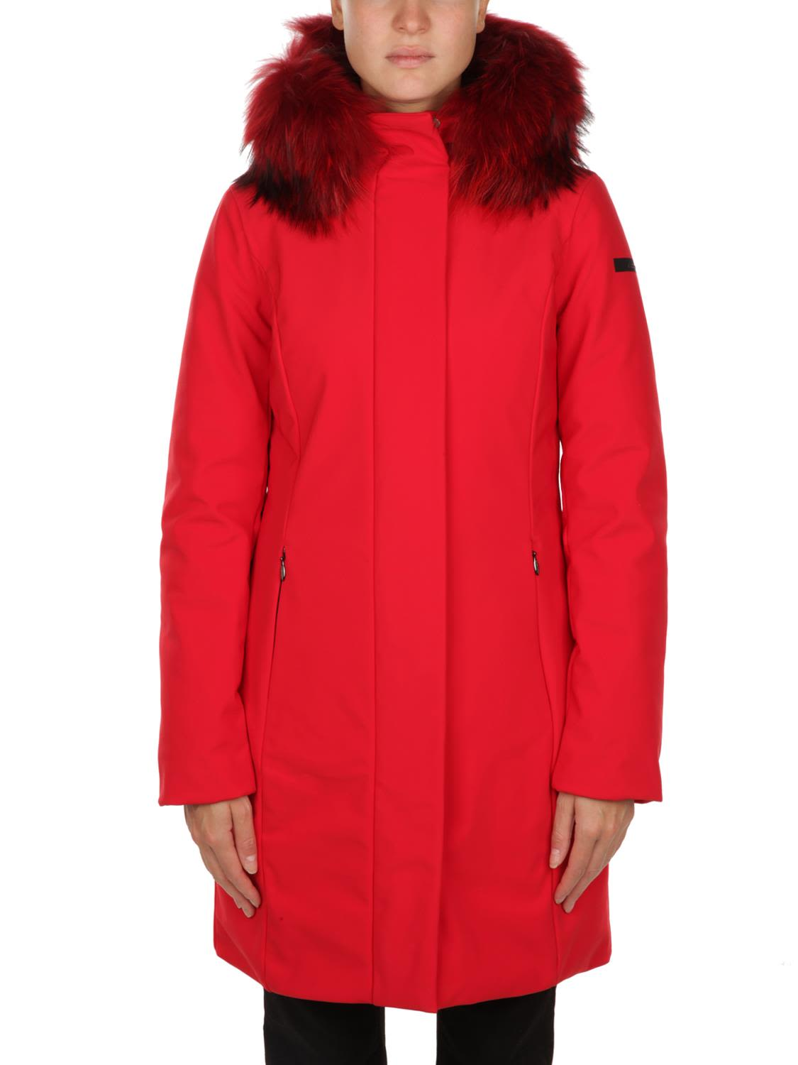 RRD - ROBERTO RICCI DESIGN Hooded Jacket in Red